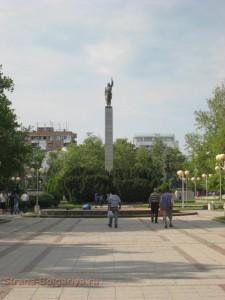 Памятник Русскому солдату в Бургасе