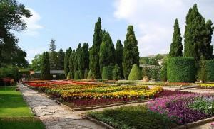 Ботанический сад и Архитектурно — парковый комплекс Дворец