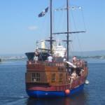 Аттракцион «Пиратское сражение» в Варне