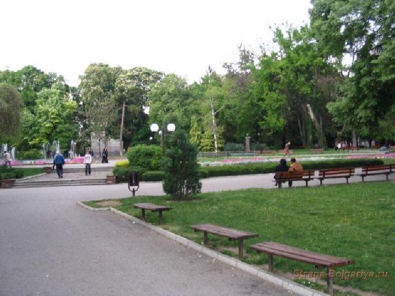 Стара Загора - городской парк