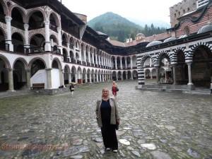 Знаменитый Рильский монастырь в Болгарии