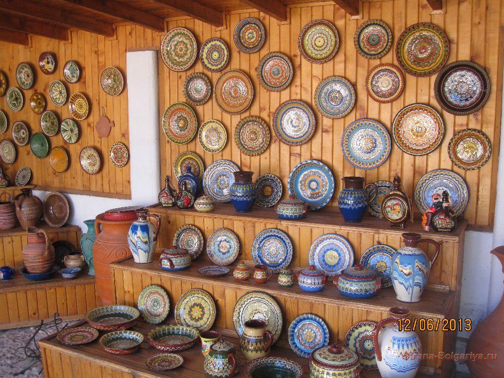 Болгарская глиняная посуда