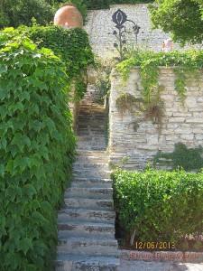 Лестница в Ботаническом саду Балчик