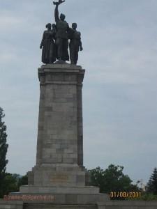 Памятник Советским воинам в Софии