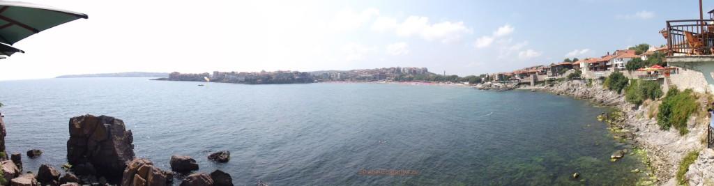 Панорама бухта Созопола