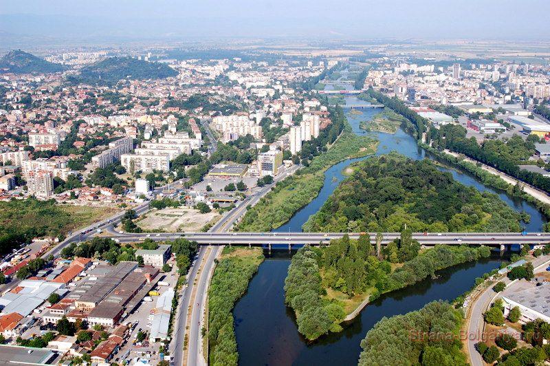 Пловдив с высоты птичего полёта
