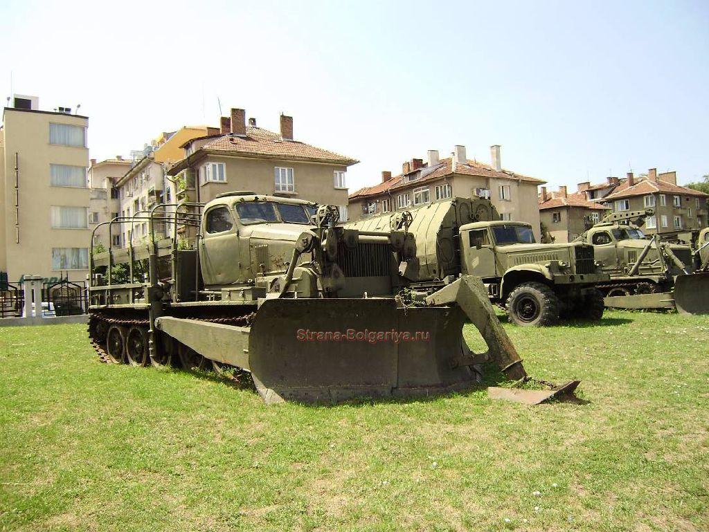 Территория музея военной истории в Софии