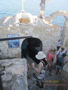 Часовня Святого Николая на мысе Калиакра
