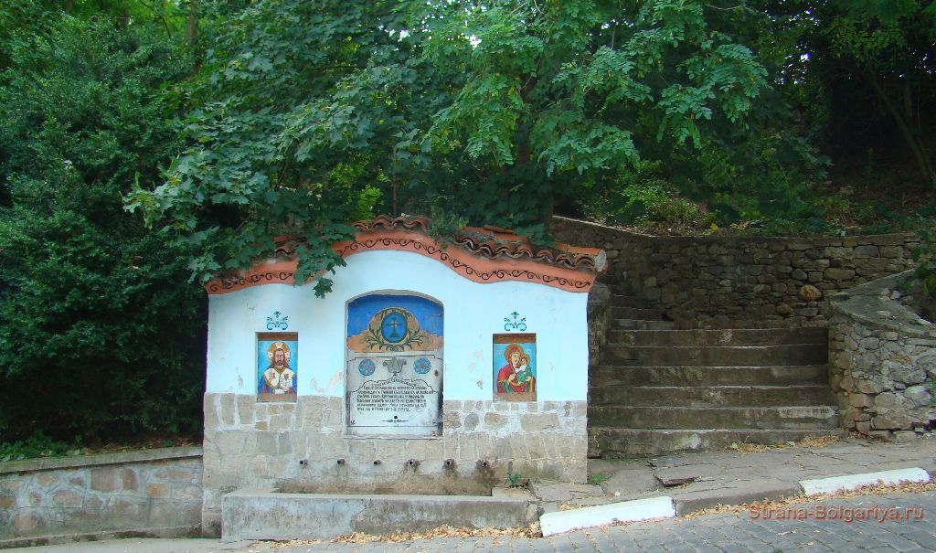 Чашма на пути к Бачковскому монастырю