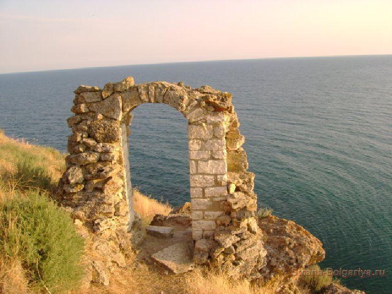 Арка на мысе Калиакра
