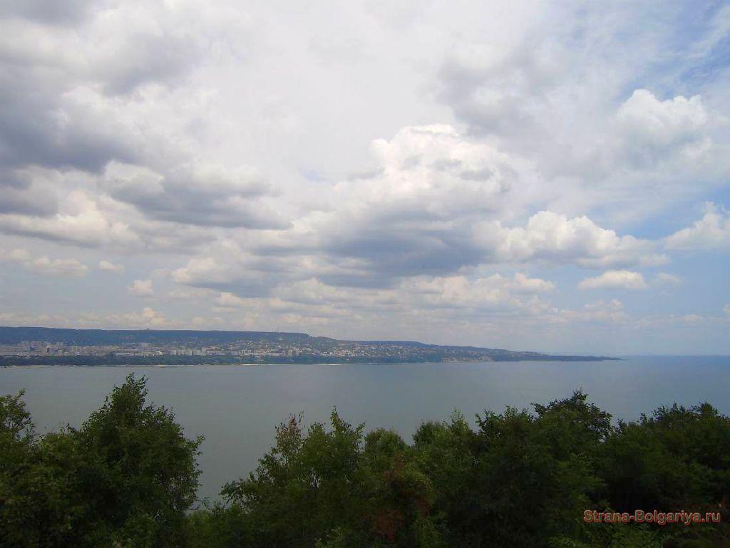 Варна со смотровой площадки
