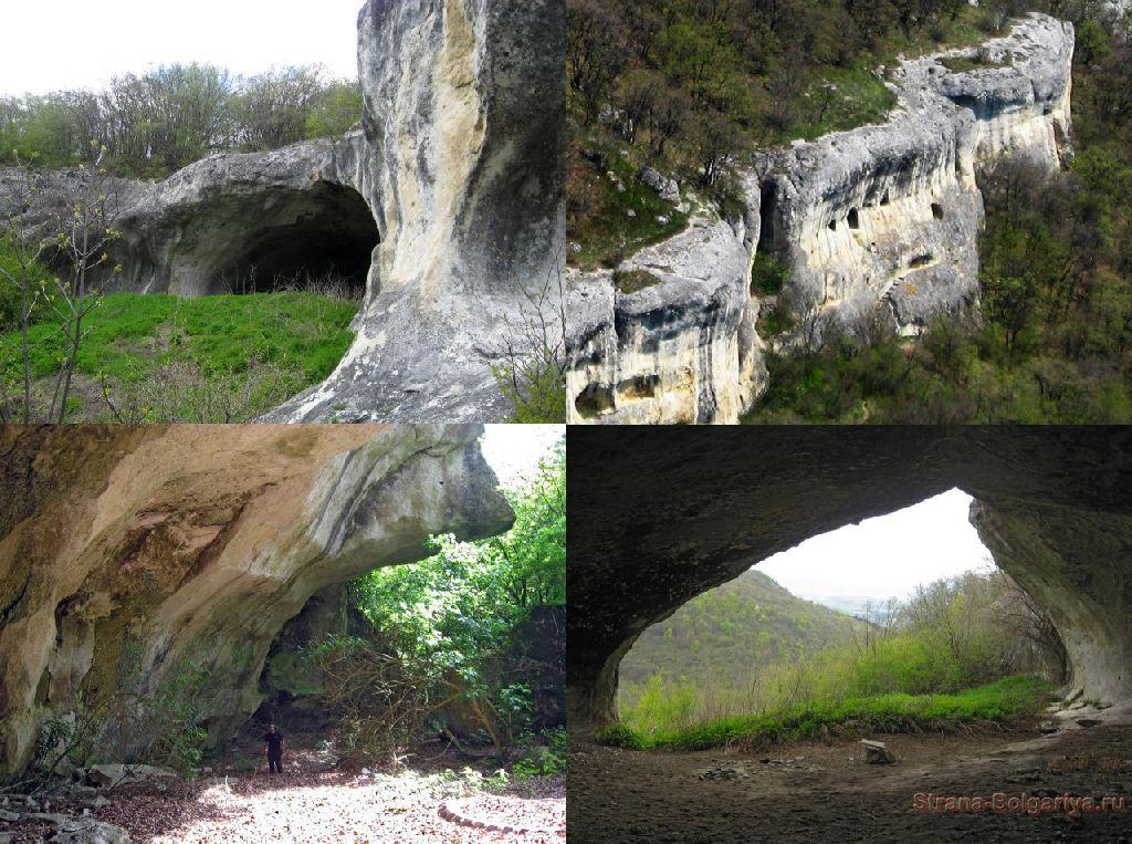 Причудливые формы скал Шуменского плато