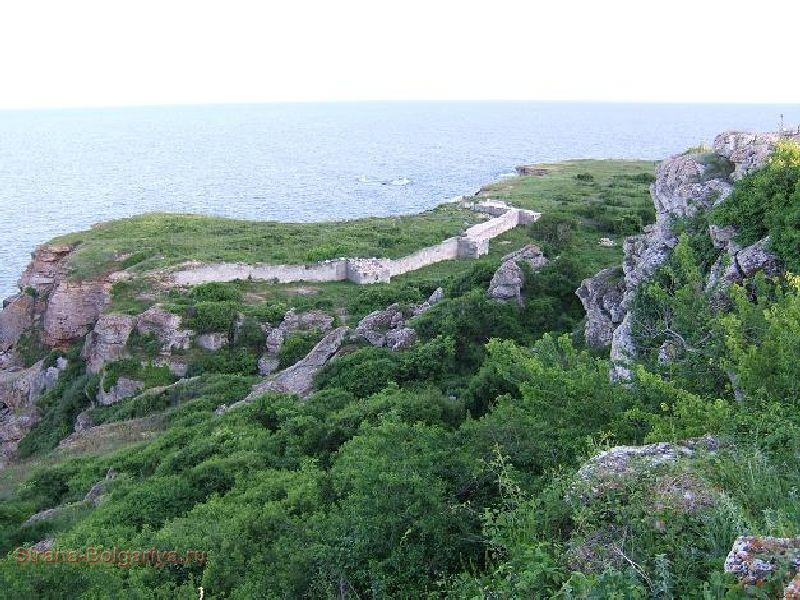 Часть стены ранневизантийской крепости