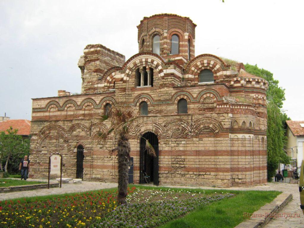 Церковь Пантократора в старом Несебре