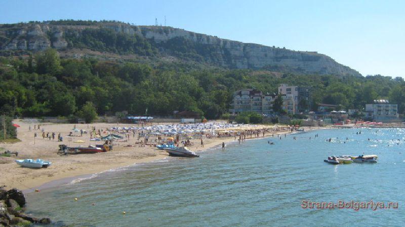 Один из пляжей в Балчике