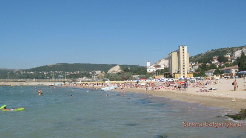 Пляж в Балчике
