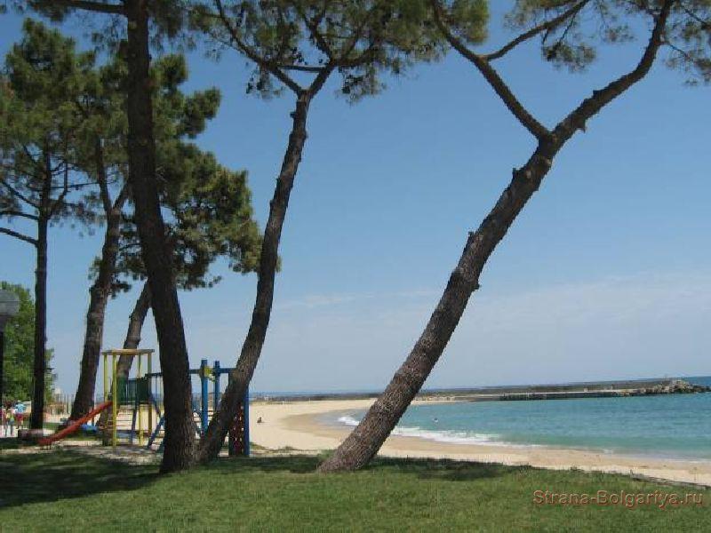 Пляж Золотые пески