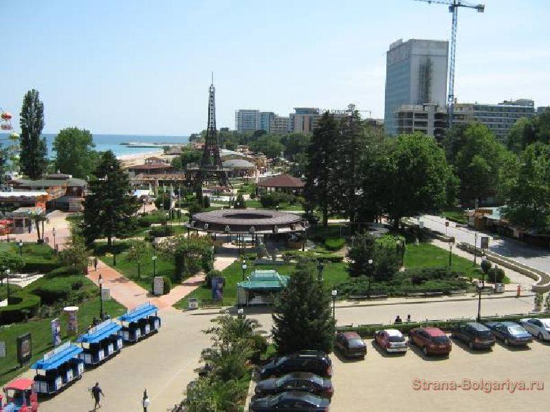 Вид из отеля Адмирал