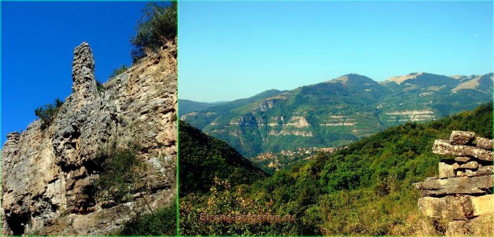 Камин и панорама