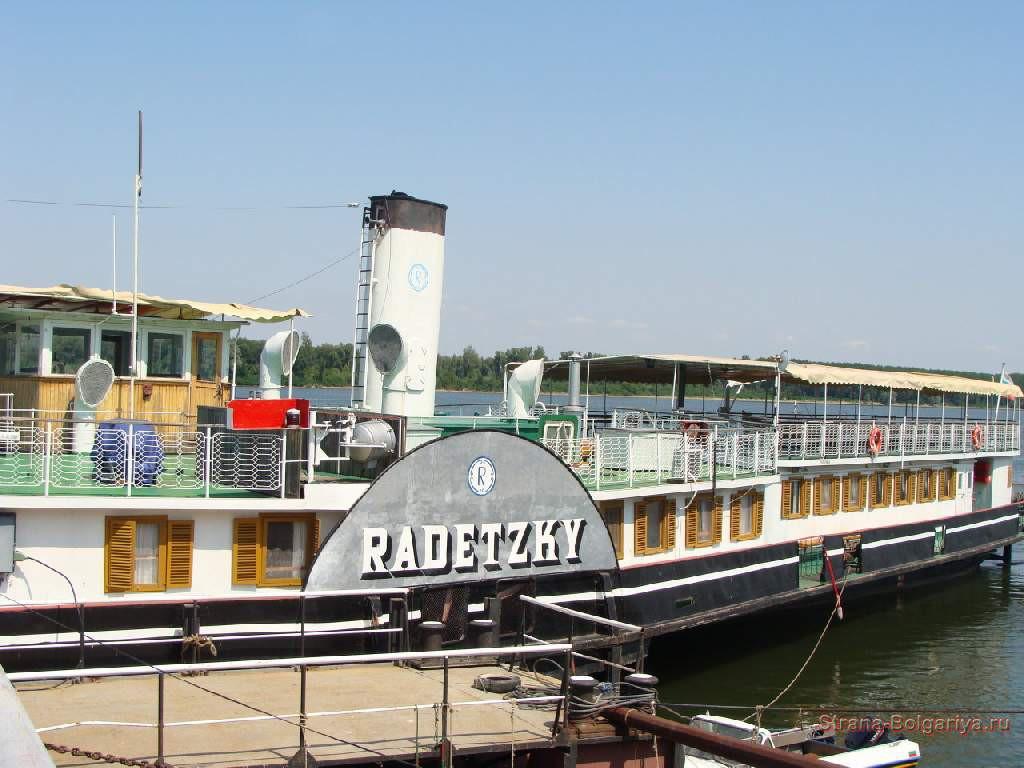 Параход-музей Радецки