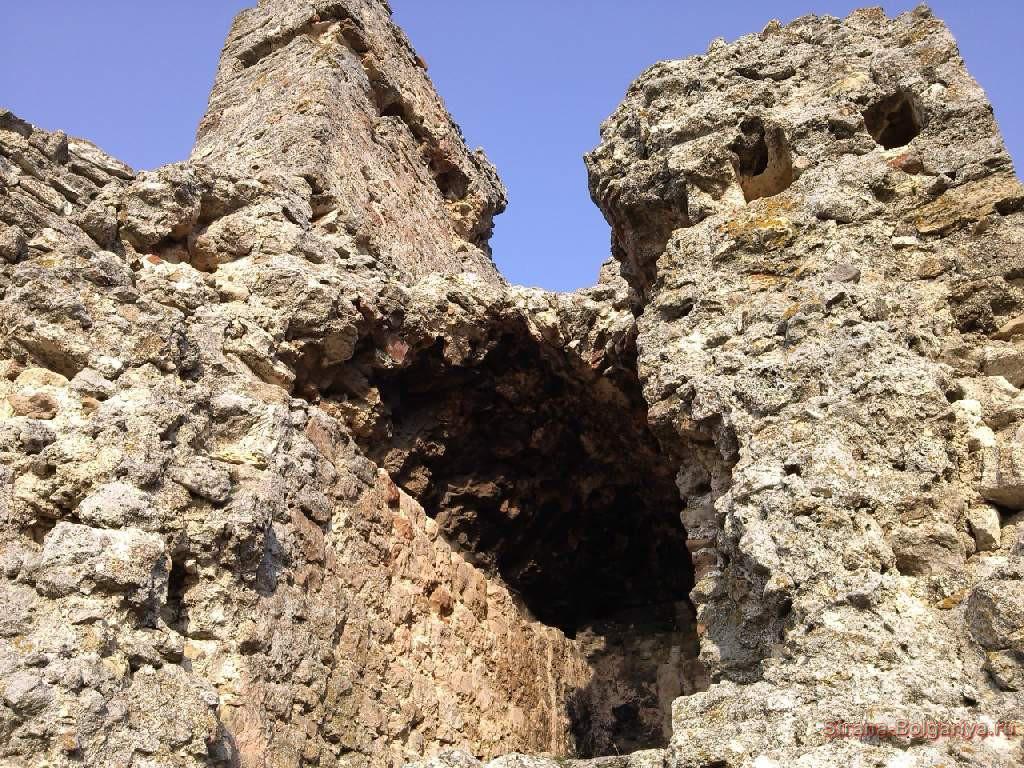 средневековая крепость Камень